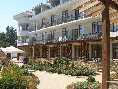 Гостиница Атлантик в Феодосии