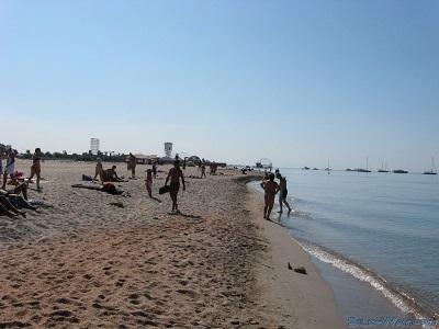 На пляжах Поповки