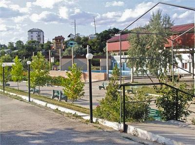 Пансионат Солнечная бухта в Орджоникидзе