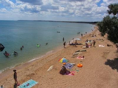 Пляжи Героевки