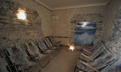 Соляная пещера в пансионате Коралл