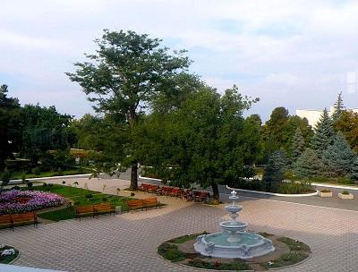 В курортном парке Саки