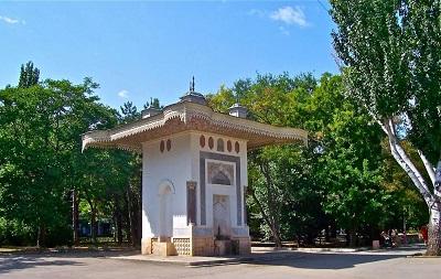 фонтан айвазовского в феодосии