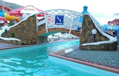 Горки в аквапарке «Судак»