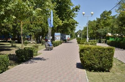 Парк Фрунзе в Евпатории