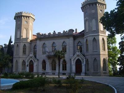 дворец Голицына в Гаспре
