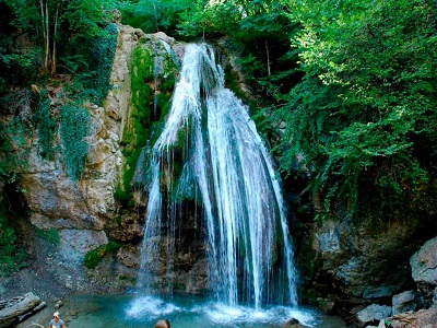 джур-джур водопад фото