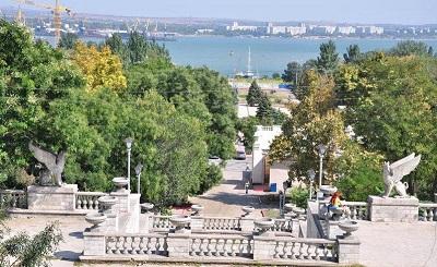 Большая Митридатская лестница - панорама