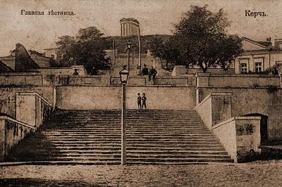 Большая Митридатская лестница - старые фото