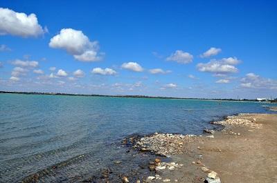 Мойнакское озеро в Евпатории