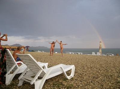 Отдых на Нудистском пляже
