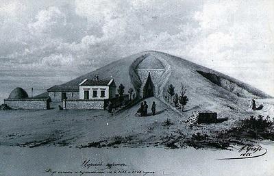 Царский курган в Керчи