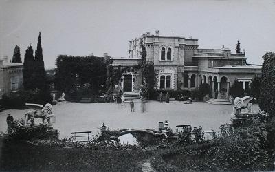Юсуповский дворец в Крыму - фото ансамбля
