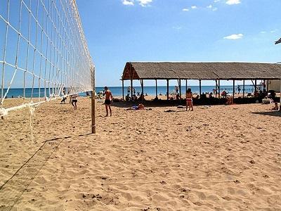 пансионат «Оазис» - пляж