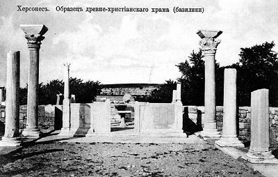 Образец древне-христианского храма в Херсонесе