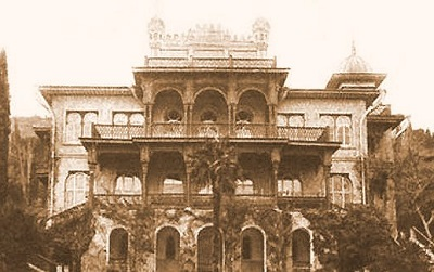 Дворец Карасан - старые фото