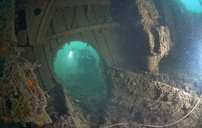 Двуякорная бухта - дайвинг