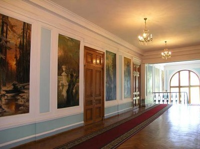 Кузнецовский дворец в Форосе - фото внутри