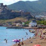Судак — красивый курорт на юго-востоке Крыма
