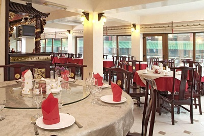 Отель Веселый Хотей в Гурзуфе ресторан