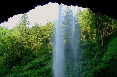 Водопад Козырек фото