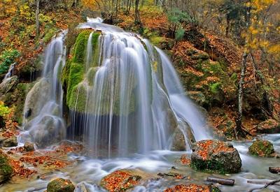 водопад Серебряные струи фото 2