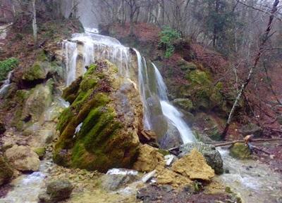 водопад Серебряные струи фото после обрушения