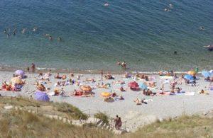 Агатовый пляж Орджоникидзе