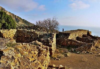 Боспорская крепость Крым