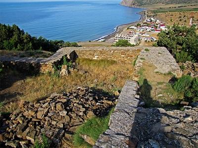 Кутлакская крепость Крым