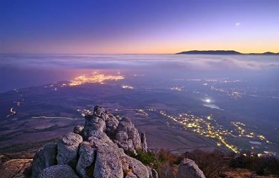 Виды с горы Демерджи