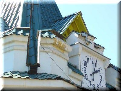 башня с часами ялта