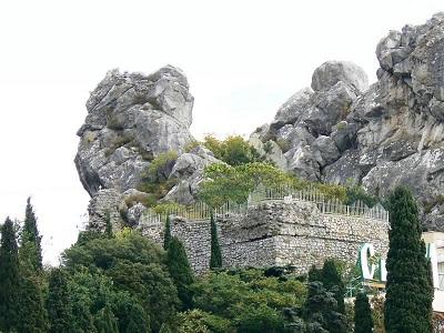 скала Дженевез-Кая крепость