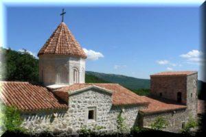 Армянский мужской монастырь Сурб-Хач в Старом Крыму