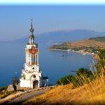 Храм-маяк в п. Малореченское: под защитой покровителя моряков