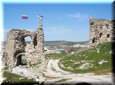 Крепость Каламита в Инкермане фото