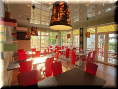 отель Кедр-Запад в Алупке в ресторане