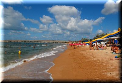 пляж щелкино крым фото