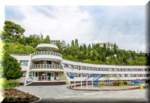 ателика морской уголок курортный отель алушта