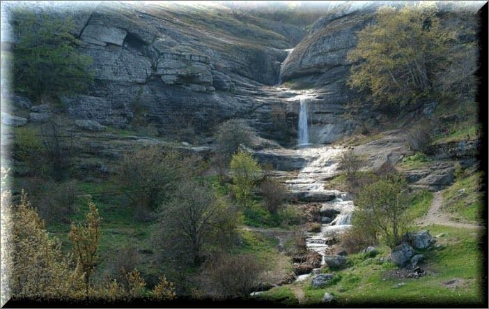крым водопад джурла