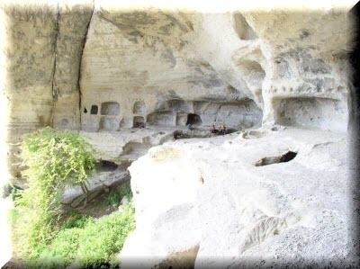 кыз-кермен пещерный город фото