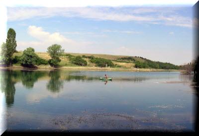 тайганское водохранилище фото