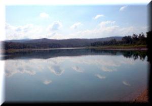 тайганское водохранилище крым