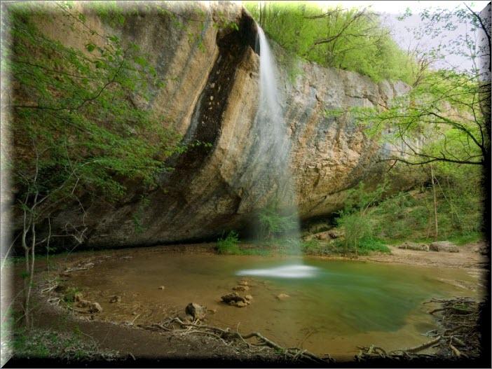 водопад козырек в крыму