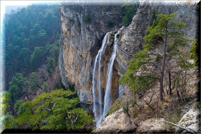 водопад учан-су крым