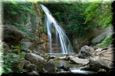 хапхальское ущелье водопад джур-джур