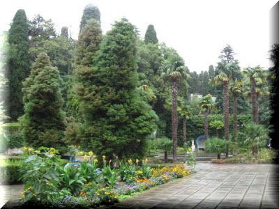 парк чаир крым фото