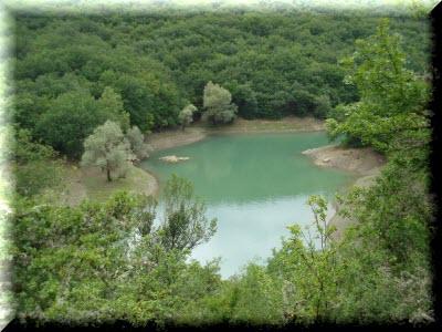 партизанское водохранилище маршрут