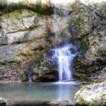 Суаткан — красивый водопад в предгорьях Бельбекской долины