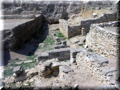 Керчь древнегреческое городище Нимфей